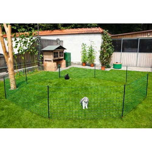 Kaninchennetz gr n kleintierzuchtbedarf und - Recinti per giardini ...